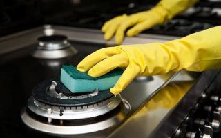 Чем и как очистить плиту от жира? советы домохозяйке