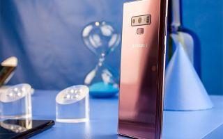 Samsung galaxy note 9 | обзор конкурентов, сравнение, аналоги