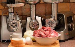 Что такое номинальная и максимальная мощность мясорубки?