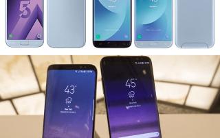 Samsung j7 или a5 — какой смартфон лучше выбрать?