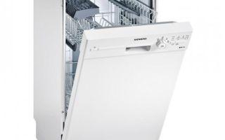 Рейтинг узких посудомоечных машин шириной до 45 см