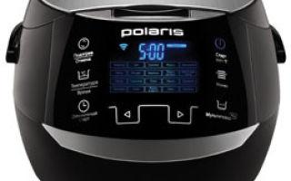 Рейтинг лучших мультиварок марки polaris