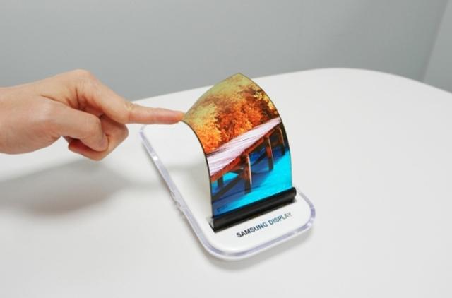 Телефоны samsung с гибким экраном выйдут в начале 2018 года