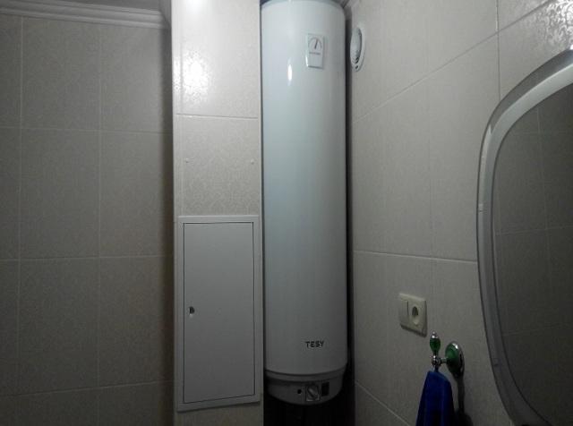 Узкие водонагреватели: преимущества и недостатки