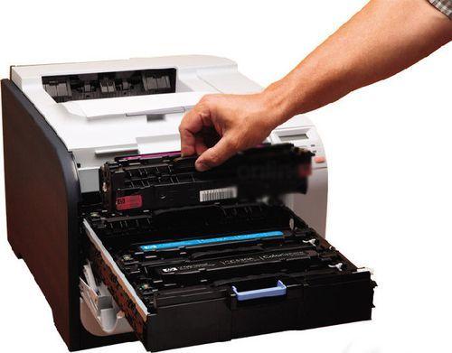 Как узнать, сколько краски осталось в принтере?