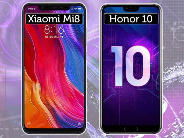 Что лучше: honor 10 или xiaomi mi 8? Сравнение смартфонов