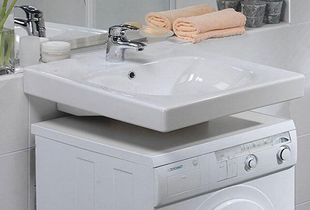Установка стиральной машины под раковину: инструкция, особенности и правила