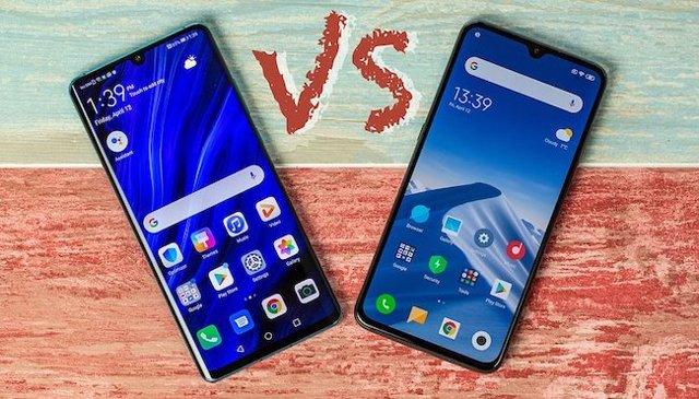 huawei p30 pro vs xiaomi mi 9 – кто круче? Сравнение смартфонов