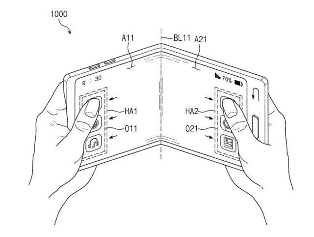 samsung получил патент на прозрачный смартфон с гибким экраном