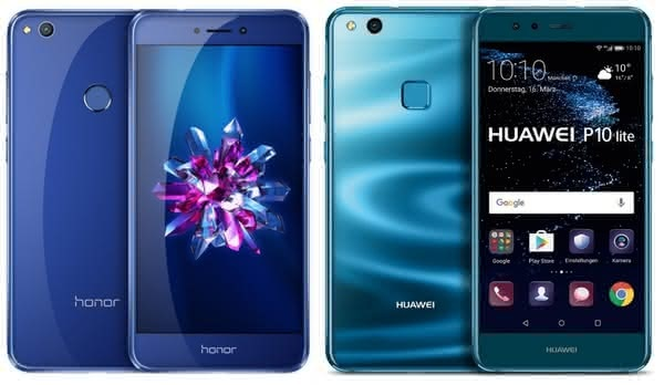 Сравнение смартфонов: huawei p10 или honor 8 – что лучше?