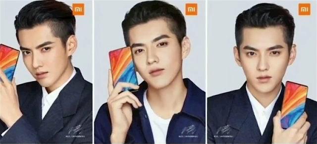 Вышли официальные постеры флагмана xiaomi mi mix 2s