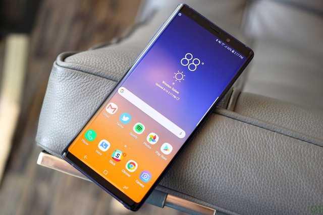 Сравнение смартфонов: iphone xs max vs samsung galaxy note 9