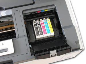 В принтере засохла краска: что делать?