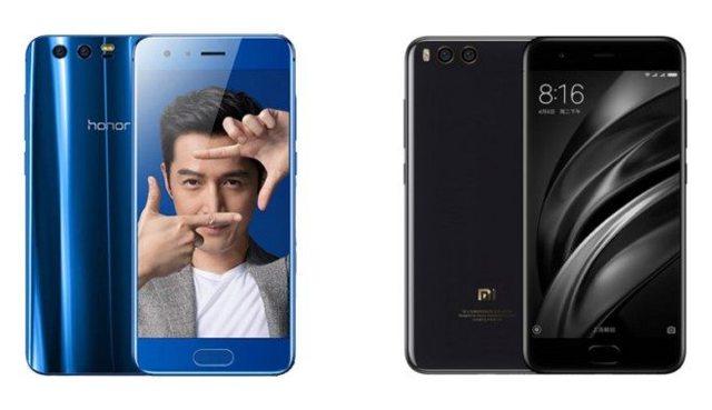 huawei honor 9 vs xiaomi mi6 – что лучше? Сравнение смартфонов