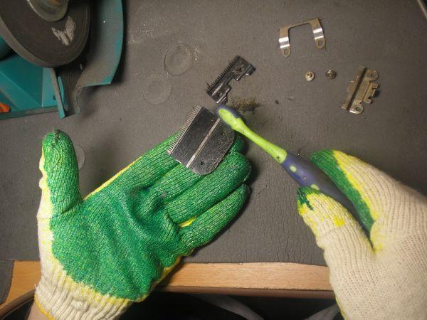 Как заточить машинку для стрижки волос (лезвия)?