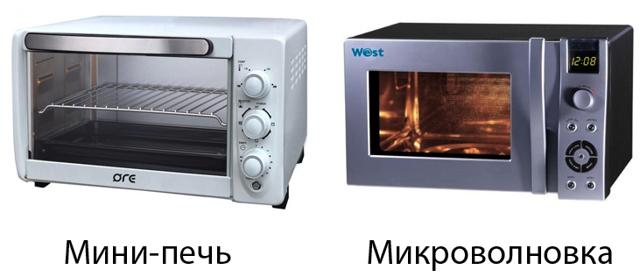 Электропечь или микроволновка: что лучше выбрать?