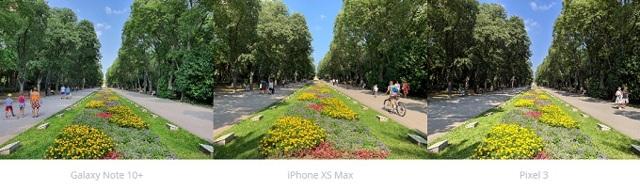 Примеры фото на камеру samsung galaxy note 10+, сравнение с google pixel 3
