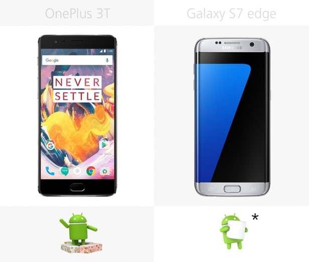 oneplus 3t или samsung galaxy s7 - что лучше выбрать?