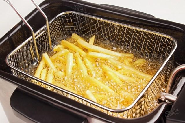 Чем и как отмыть фритюрницу от масла? Советы домохозяйкам