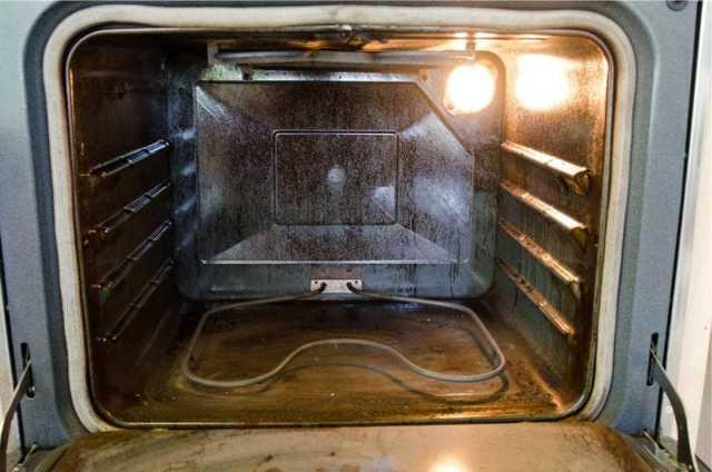 Как почистить электродуховку от жира? Видео, инструкция