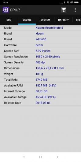 xiaomi раскрыл характеристики нового смартфона redmi note 5