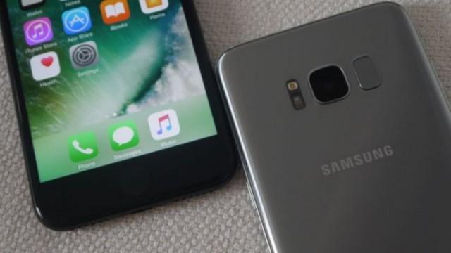 iphone 8 оказался хуже samsung galaxy s7?