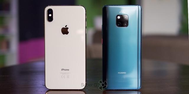 huawei mate 20 pro vs iphone xs – кто круче? Сравнение смартфонов