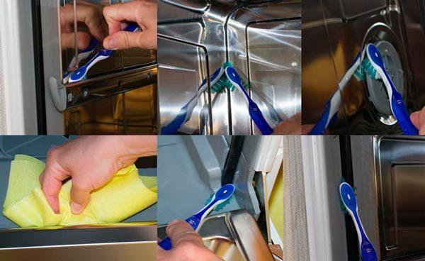Инструкция по очистке посудомоечной машины