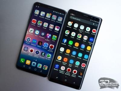 lg v30+ или samsung galaxy s8 – что лучше? Сравнение смартфонов