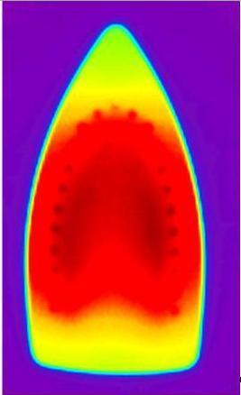 Какая температура подошвы утюга?
