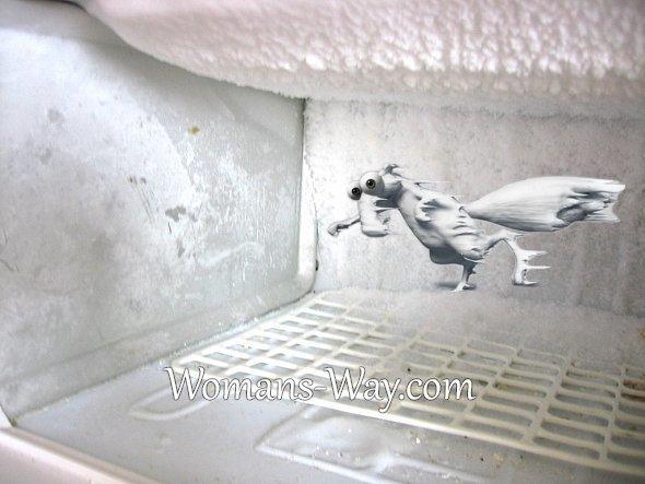 Как быстро и легко почистить морозилку? Советы