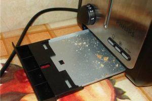 Как почистить тостер внутри: инструкция