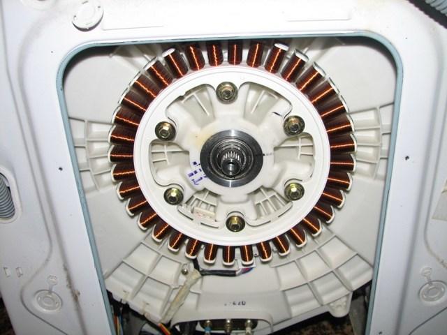 Неисправности двигателя стиральной машины и его замена