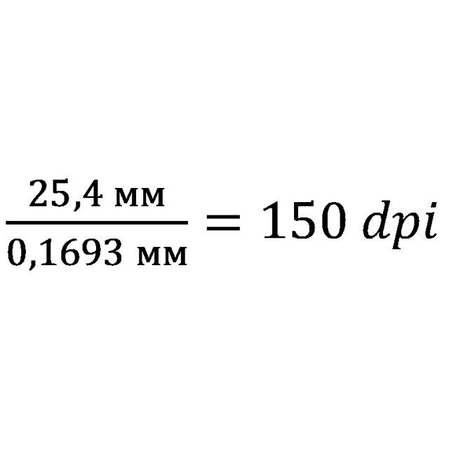 Что такое dpi в принтере (разрешение)?