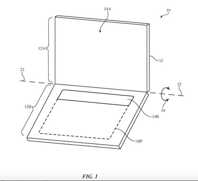 Компания apple запатентовала клавиатуру без кнопок