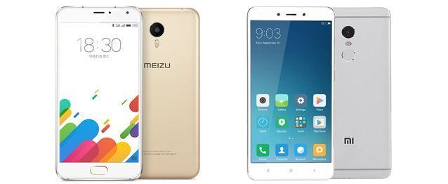 Сравнение смартфонов: xiaomi redmi note 3 или meizu m3 note – что лучше?