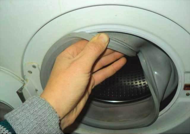 Замена резинки в стиральной машине своими руками (манжеты люка)