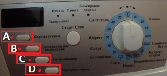 Коды ошибок стиральных машин hansa и устранение неисправностей
