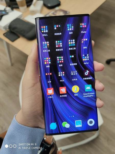 xiaomi mi 7 с безрамочным дисплеем показали на видео