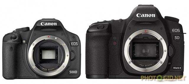 Различия между профессиональными и полупрофессиональными фотоаппаратами