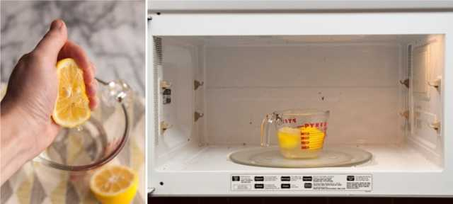 Как легко и быстро очистить микроволновку внутри от жира?