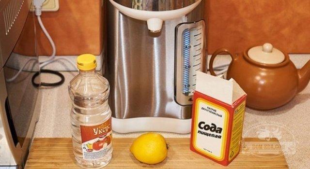 Чем и как почистить термопот от накипи? Советы, инструкции