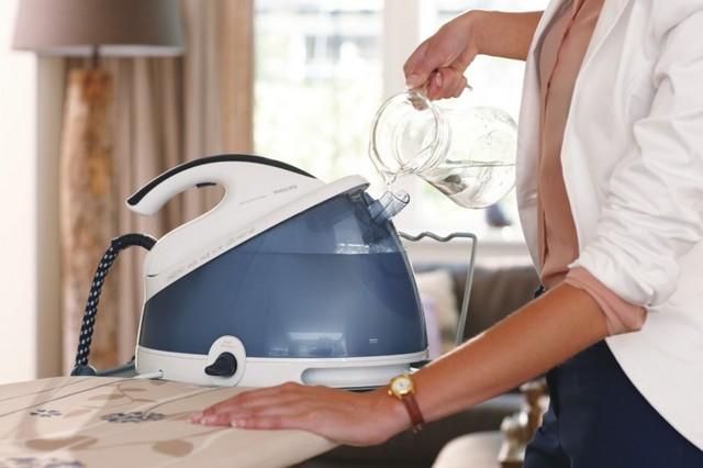 Как очистить отпариватель от накипи?