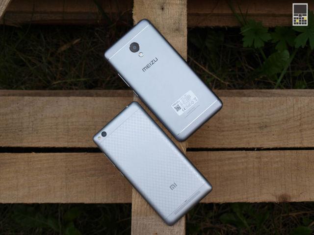 Сравнение телефонов xiaomi redmi 3 и meizu m3: обзор характеристик, камер