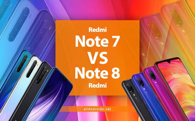 redmi note 7 или redmi note 8t - сравнение, кто круче?