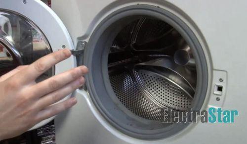 Замена манжеты люка стиральной машины: инструкция, фото т видео