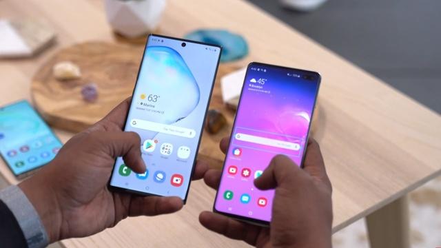 Сравнение смартфонов: samsung galaxy s10 vs note 10